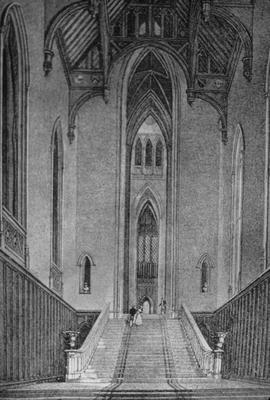 Fonthill Abby - Note on slide: Great Western Hall. Sir James Wyatt for William Beckford