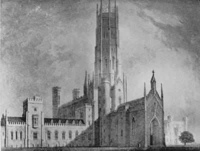 Fonthill Abby - Note on slide: Sir James Wyatt for William Beckford