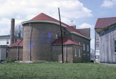 St. Thomas Church - Note on slide: Near Bardstown, KY