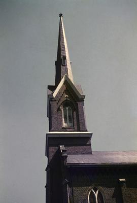 Second Presbyterian Church - Note on slide: North Mill Street