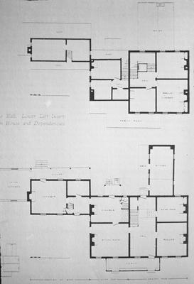 Hurricane Hall - Note on slide: Floor plans