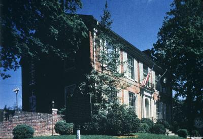 Old Governor's Mansion - Note on slide: Kramer / Capitol on the Kentucky color plate III