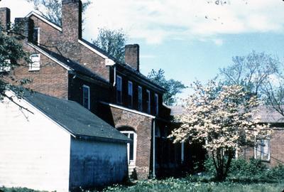 George Thompson House (Shawnee Springs) - Note on slide: Photo Jean-Paul Michalid