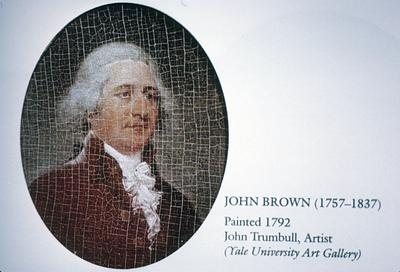 John Brown - Note on slide: Kramer / Capitol on the Kentucky color plate III