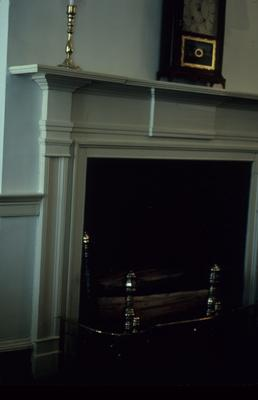 Liberty Hall - Note on slide: Mantel south west room