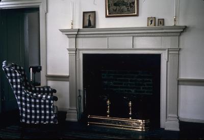 James Robert Verdier House - Note on slide: Parlor mantel detail. Colonial Homes May-June 1982