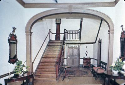 Liberty Hall - Note on slide: Mantel. First floor chamber