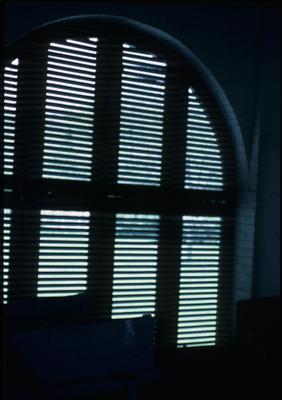 Liberty Hall - Note on slide: Breezeway shutters