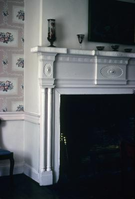 Forest Hill - Note on slide: Mantel
