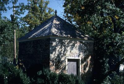 Liberty Hall - Note on slide: Smoke house