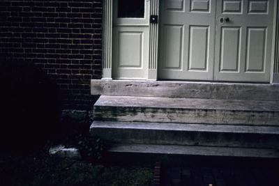 John Wesley Hunt House (Hunt - Morgan House) - Note on slide: Entrance doorstep
