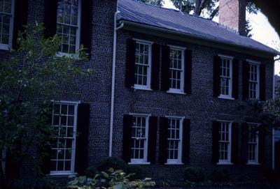 John Wesley Hunt House (Hunt - Morgan House) - Note on slide: North side of rear wing