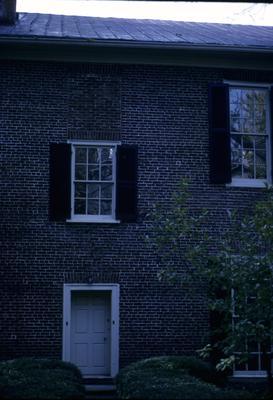 John Wesley Hunt House (Hunt - Morgan House) - Note on slide: Stairwall door and window