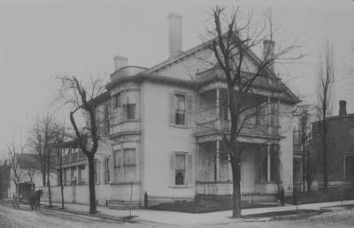 John Wesley Hunt House (Hunt - Morgan House) - Note on slide: Art Works of the Bluegrass, 1899