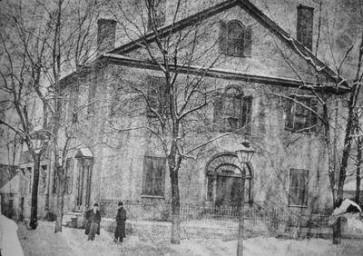 John Wesley Hunt House (Hunt - Morgan House) - Note on slide: Old photo