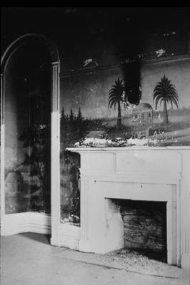 Pleasant Lawn - Note on slide: Murals in parlor