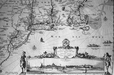 N.D. Visschar Map