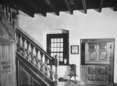 Jerg Muller House - Note on slide: Staircase in hall. Downs, J. / The House of the Milley