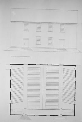 Pair Street Meeting House - Note on slide: After James Weeks' plans