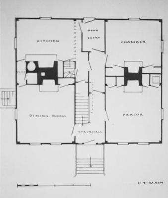 Edward Cany House - Note on slide: 117 Main Street