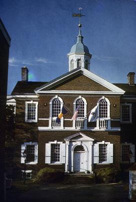 Carpenter's Hall - Note on slide: By Robert Smith
