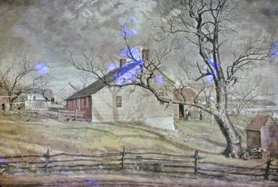 Williams Mount Long Island Farmhouse - Note on slide: Metropolitan Museum