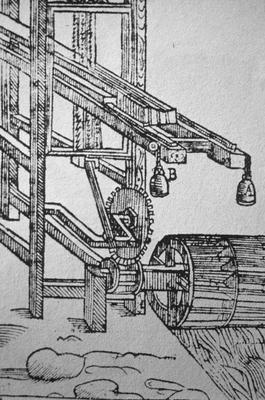 Sawmill - Note on slide: Edward Williams Virginia, London 1650