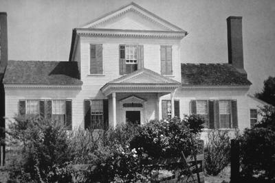 Julius Tillery House - Note on slide: Waterman p. 93