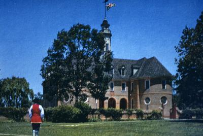 Colonial Capitol - Note on slide: Postcard