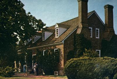 George Washington's Birthplace - Note on slide: Postcard