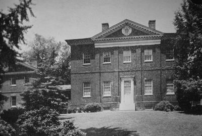 Hammond - Harwood House - Note on slide: Rear view