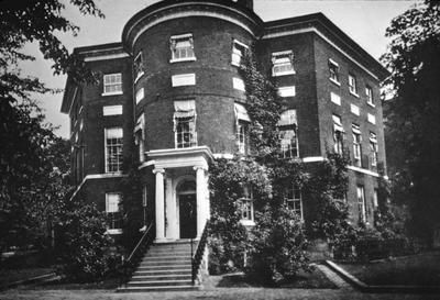 Octagon House - Note on slide: William Thornton