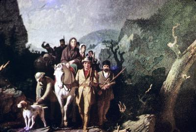 Daniel Boone Escorting a Band of Pioneers in the Western Country