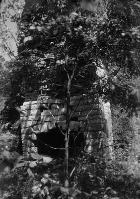 Chimney - Note on slide: J. Carroll House