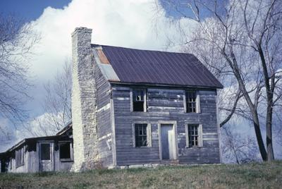 Henry Russell Farm - Note on slide: George Davis 1793. Deep Creek Pike