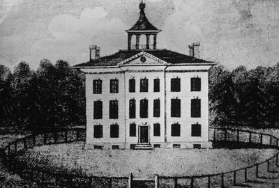 First Kentucky State House - Note on slide: New York Magazine July 1796