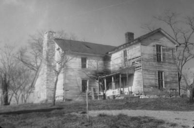 Phillip Board House - Note on slide: Johnson Road