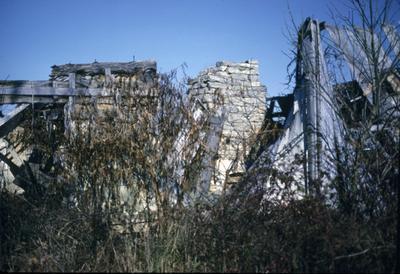 Cabin Ruins on Bohon Road