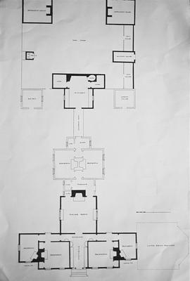 La Chamiere des Prairies - Note on slide: Floor plan