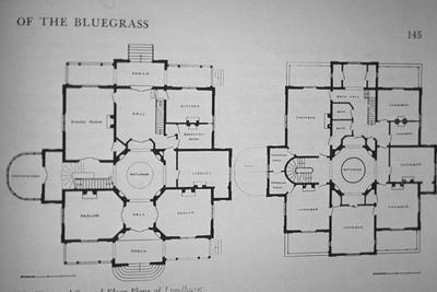 Lyndhurst - Note on slide: Floor plans