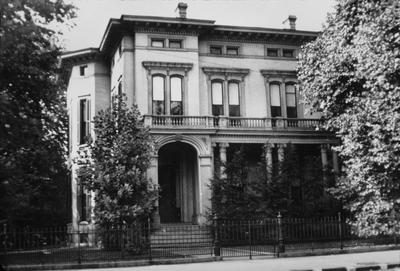Dr. Jason M. Bush House - Note on slide: After 1863