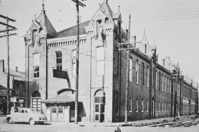 Lexington Market House - Note on slide: Coleman / Squire's sketches of Lexington