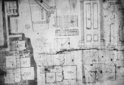 Watkins House - Note on slide: Plans