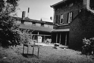 Judge George Woolley House - Note on slide: High Street. Rear