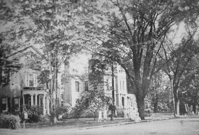 Wilkinson Street, Fred J. Sutterlind House - Note on slide: Kramer / Capitol on the Kentucky