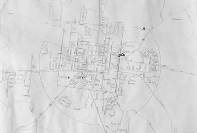 Modern Map of Harrodsburg