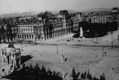 Palais du Louvre - Note on slide: Fletcher