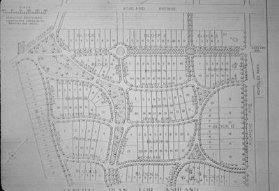 Plan of Ashland Park