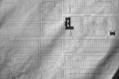 Map of Havover and Ashland