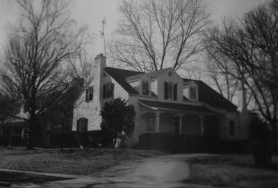 Lucille Sutherland House - Note on slide: Castlewood Pike